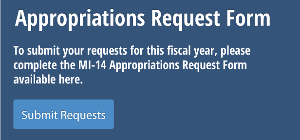 Appropriations Request