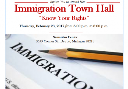 Immigration Town Hall